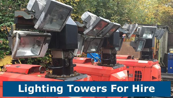 Portable Lighting Tower Hire
